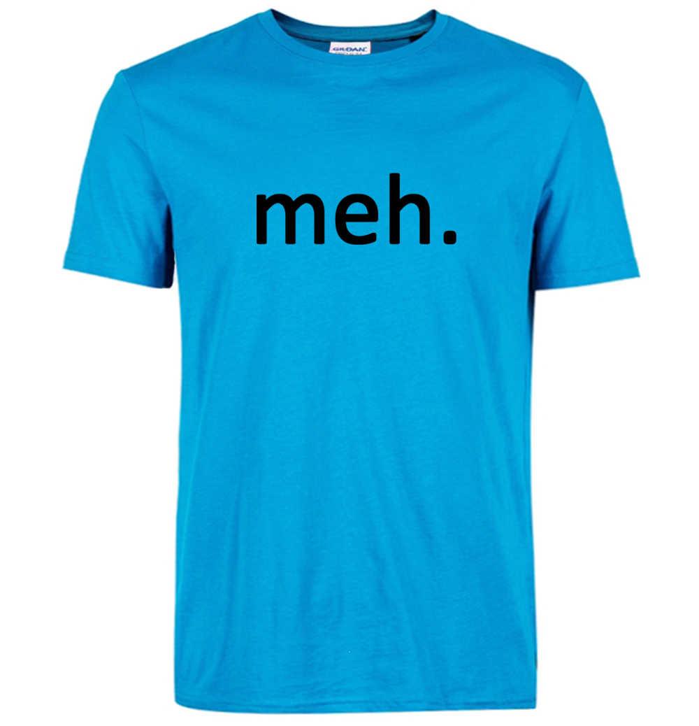 Gran oferta 2019 verano MEH Internet Geek Nerd divertido hombres camiseta casual hipster 100% de algodón de alta calidad streetwear S-3XL