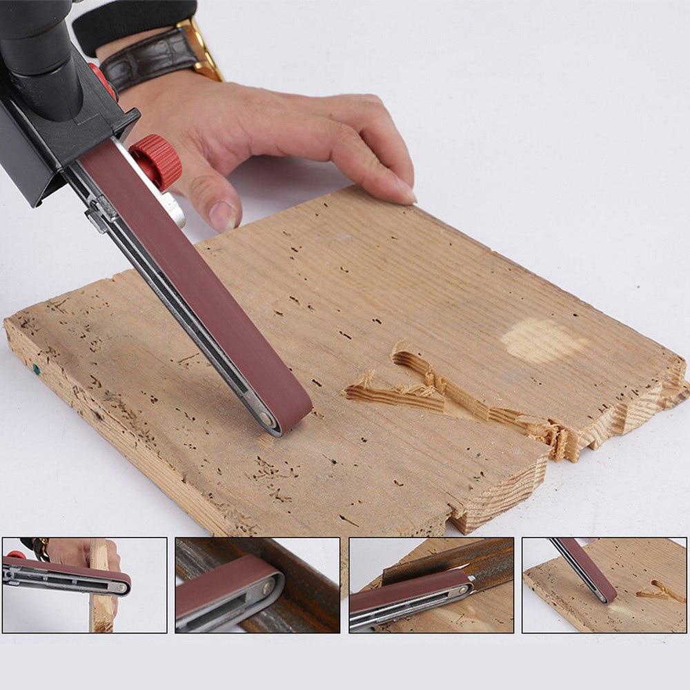 10pcs Abrasive Sanding Belts Colored Angle Grit Paper Grinding Sanding Paper For Woodworking Furniture Angle Grinder Machine