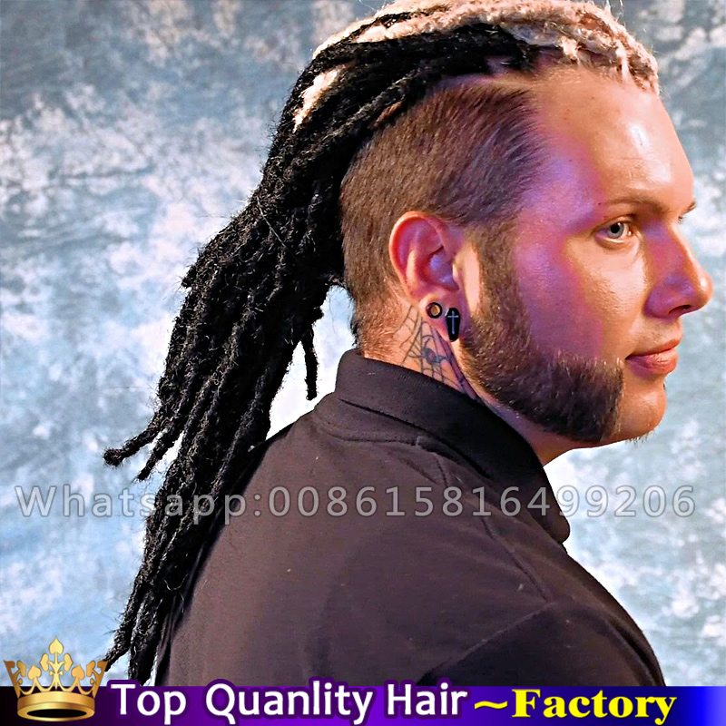 Synthetic Kanekalon Faux Locs Crochet Hair Extension
