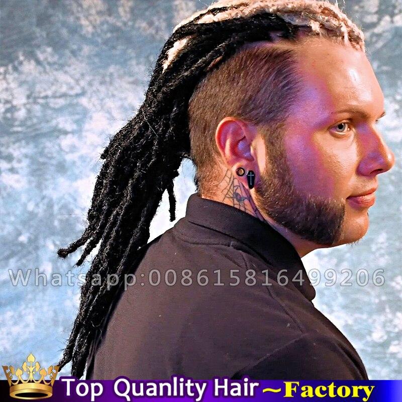 Synthetic kanekalon Faux locs crochet hair extension dreads dreadlocks extensions Men kinky