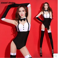 Jazz Dance Europe and the United States Nightclub Sexy Modern Dance Costume Fashion High Quality Dancing Dress Stage Jumpsuit