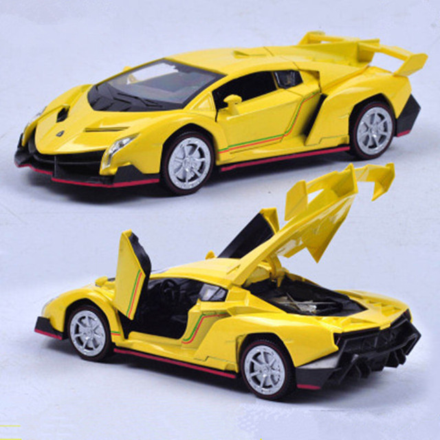 Rambo Alloy Chassis World Famous Car Model Pullback Toy Cars