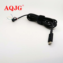 1.8m USB Type-C DC Power Male Tip Plug Connector with Cord / Cable for Dell