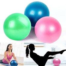Yoga bola del ejercicio gimnasio Pilates equilibrio ejercicio Fitness bomba  de aire Anti-explosión material 8b4449d6ed23
