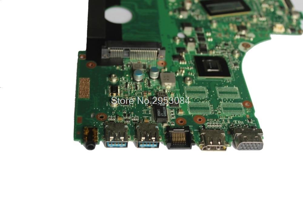 Pour ASUS X750LN X750LB X750L K750L A750L carte mère d'ordinateur portable avec GT740M/2 GB i7-4500U/I7-4510U 100% test ok - 4