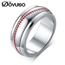 DOYUBO Hot Sale Men's Rotatable Baseball Stainless Steel Fin