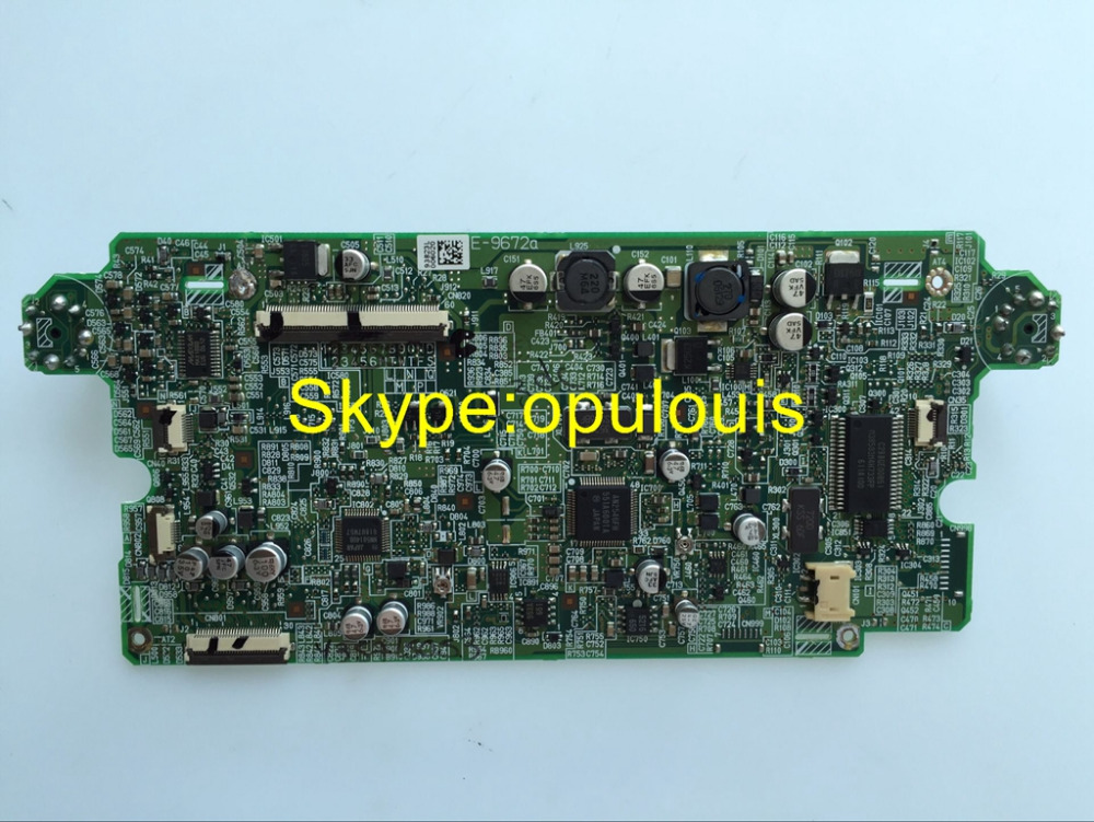 PCB E 9672 Display Buttom power font b board b font electronics font b board b working of dvd player electronic circuits and diagram Sanyo TV Back Diagram at soozxer.org
