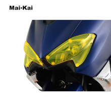 MKLIGHTECH For YAMAHA T-MAX530 TMAX530 2017 Acrylic Headlight Screen Protective Cover