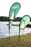 Quality Teardrop Flag Banner With Digital Printing