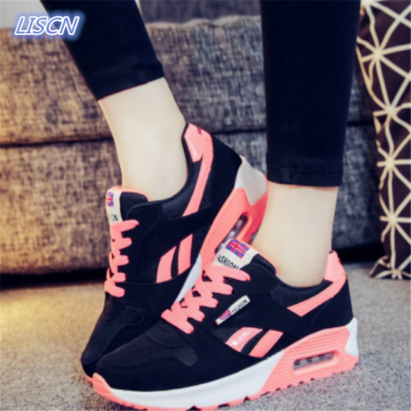 2018 Hot Sale New Fashion Women Casual Shoes Tenis Feminino Outdoor Walking Women Flats Breathable Zapatillas Casual Shoes 2016 hot sale fashion women walking shoes summer lightweight breathable women casual shoes flats zapatos mujer trainers r013