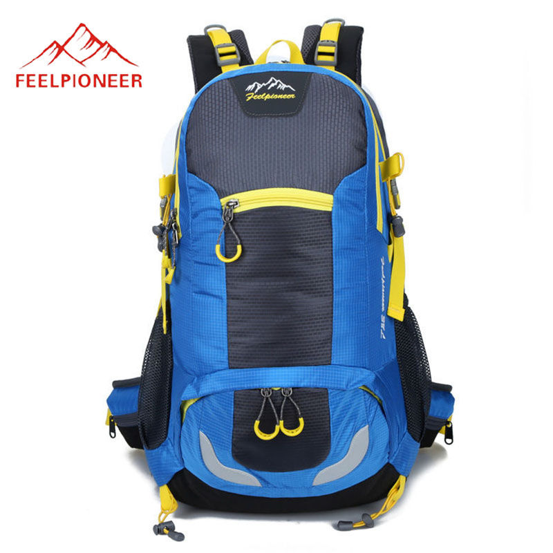 38L Outdoor Sports Mountaineering Backpack Molle Camping Hiking Trekking Rucksack Travel Backpacks Bag Waterproof Bags X101WA new arrival 38l military tactical backpack 500d molle rucksacks outdoor sport camping trekking bag backpacks cl5 0070