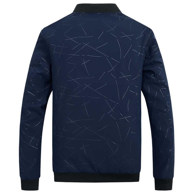 2019 куртка Для мужчин повседневная бейсбольная куртка Демисезонный мода Slim Fit Для мужчин куртка тонкие куртки бренд Повседневное пальто Одежда высшего качества 1043