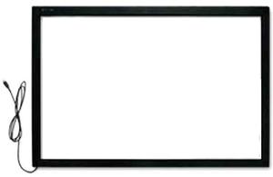 Image 4 - 32 дюймовая ИК сенсорная панель без стекла/10 точечная Интерактивная рамка сенсорного экрана с быстрой доставкой