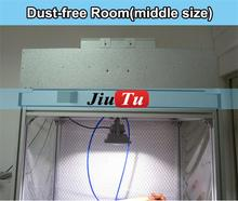 Jiutu Dry Dust Free Room, Anti Static Room, Cleaning Room Anti-static Wall with Filter and Fan for iPad/ iPhone/Samsung Repair