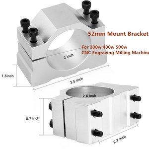 Image 5 - 500W Mandrino CNC Raffreddato Ad Aria Motore Mandrino Pinza ER11 CNC Mandrino 500w di Potenza Regolabili Alimentazione ER11 Mandrino Per incisione