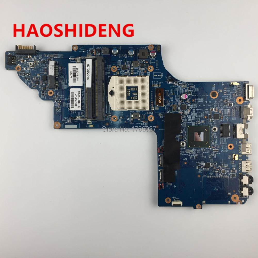 682043-501 682043-001 For HP pavilion DV7 DV7-7000 DV7-7300 series Laptop Motherboard,All functions fully Tested! high quality laptop motherboard fit for hp pavilion dv7 4000 dv7 4100 laptop motherboard 615688 001 100