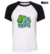 Мужская Мода Pokemon Bulbasaur Charmander Дизайн Простой Косплей Футболка