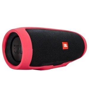 Image 1 - ソフトシリコンカバーケース jbl 充電 3 Bluetooth スピーカー耐衝撃保護スリーブハードケース Jbl 充電 3 Charge3 ケース