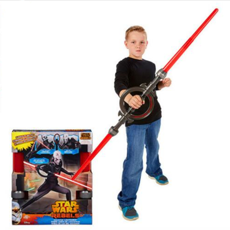 Star Wars Lightsaber Cosplay Sword Star Wars Rebels Inquisitor Lightsaber PVC Action Figure Collectible Toy Retail Box DENG03