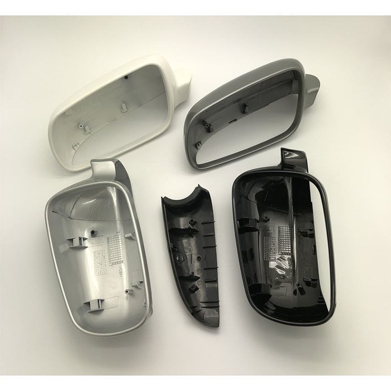 PAIR 2 PCS  Rear View Mirror Cover SLIVER for Toyota Corolla 2001-2008