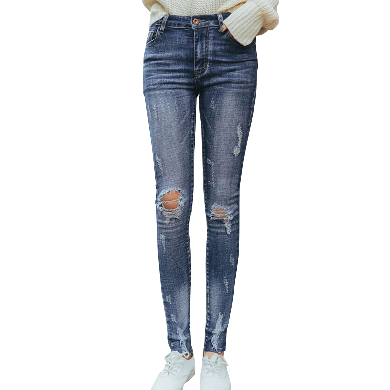 Popular Ripped High Waisted Jeans-Buy Cheap Ripped High Waisted ...