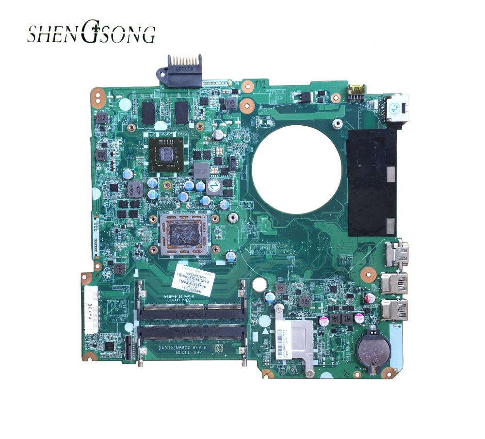 Free Shipping For 15-N 15z-N 15Z-N100 15Z-N200 Series Laptop Motherboard 734824-501 734824-001 DA0U92MB6D0 DDR3 Maiboard цена