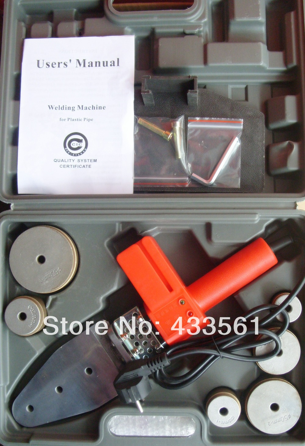 Nešiojamasis lizdo sulydymo suvirinimo aparatas / suvirintojo - Suvirinimo įranga - Nuotrauka 4
