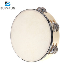Toy-Instrument Tambourine Bell Percussion Musical Educational Metal for KTV Party Kids