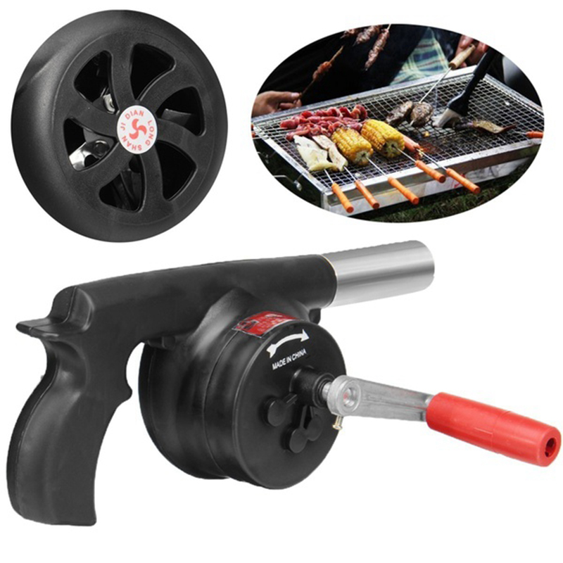 Hand Fan Barbecue Blower Outdoor Camping BBQ Barbecue Tool Fan/Blower Barbecue aanmaker 4