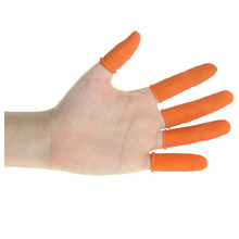 BF040 Industrial latex finger Labor glove cots wear protection insurance gloves 6*2.5cm