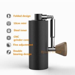 Image 3 - Nano moulin à café portable, en aluminium pliable, 1 pièce, MYY48, broyeur en acier, broyeur à café super manuel, roulement Dulex, recommandation