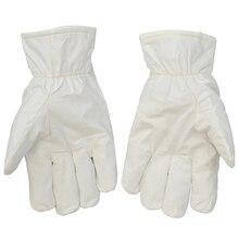 Беспыльной очистки высокая температура стойкие перчатки анти-горячий отопления 180 по цельсию антистатические защитные перчатки чистой поверхности