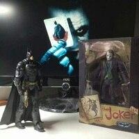 New Arrive 17cm Batman The Dark Knight The Joker PVC Action Figure Colletible Model Toy Movable