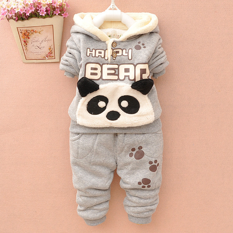 Winter Clothing Children's Clothing Boys and Girls 2 Pieces Set Children's Suits Keep Warm Jackets and Pants Kids Clothes