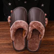 Cotton Slippers Stone Village Winter Couples Warm And Men