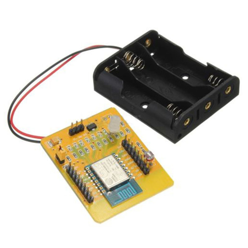 Image 3 - ESP8266 Serial WIFI Test Board Dev Kit Development Wireless Board Full IO Switch-in Replacement Parts & Accessories from Consumer Electronics