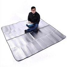 Aluminum film dampproof mat Outdoor picnic mat Thickening widened tent pad Waterproof big camping MATS/beach mat/130813