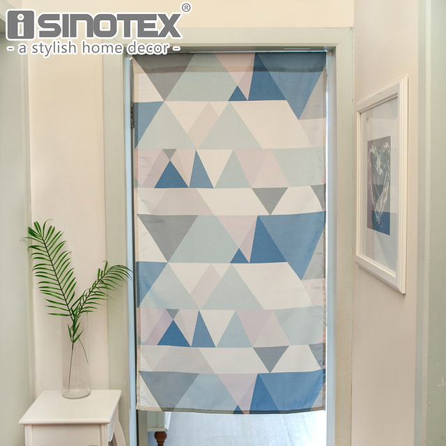 Merveilleux High Quality Kitchen Curtain Waterproof Blue Doorway Divider Tapestry Bathroom  Window Treatment Home Kitchen Curtain Decor