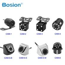 Auto Videocamera vista posteriore 4/8 LED Night Vision Telecamera di Retromarcia Parcheggio per Automobili Monitor CCD Impermeabile 170 Gradi HD Video