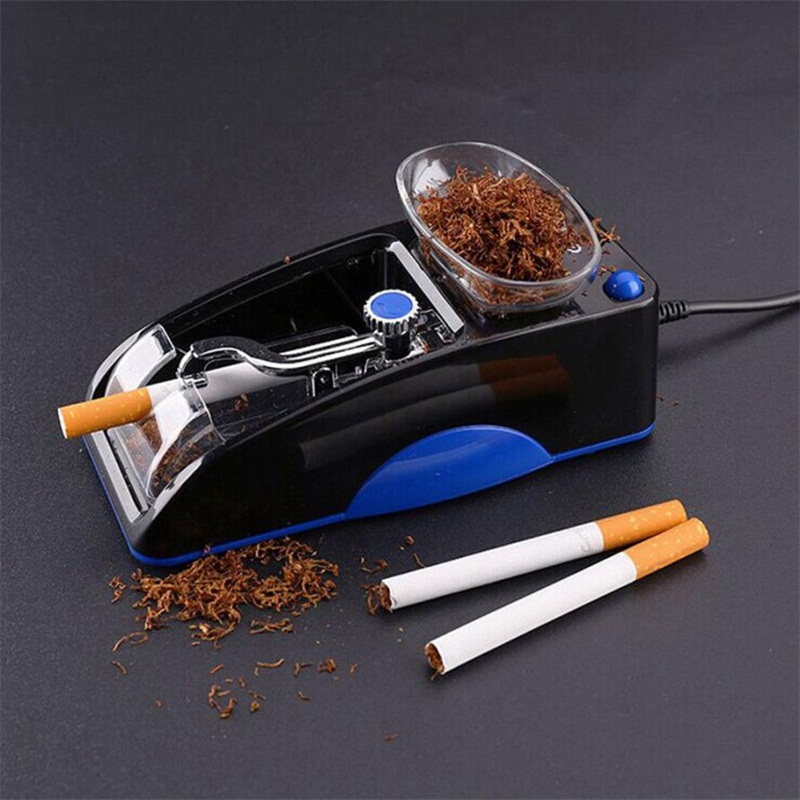 Electric Automatic Cigarette Rolling Machine Tobacco Maker Roller Cigarette Rolling Machine for 85mm,80mm Cigarette ...