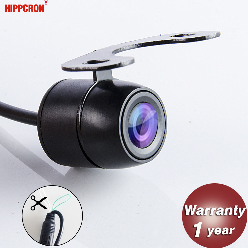 170 Degree Car Front Rear View Camera Waterproof HD Built-in Distance Scale Lines for Auto Parking Sensor System