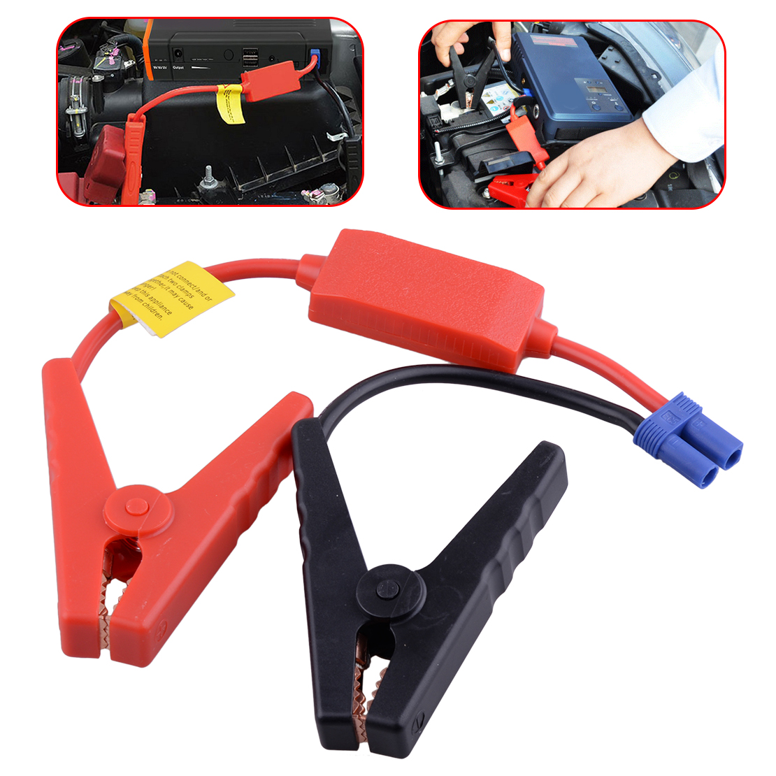 CITALL Car EC5 Plastic Shell Booster Cable Alligator Clamp Clip Connector Battery Jumper Jump Starter Plug
