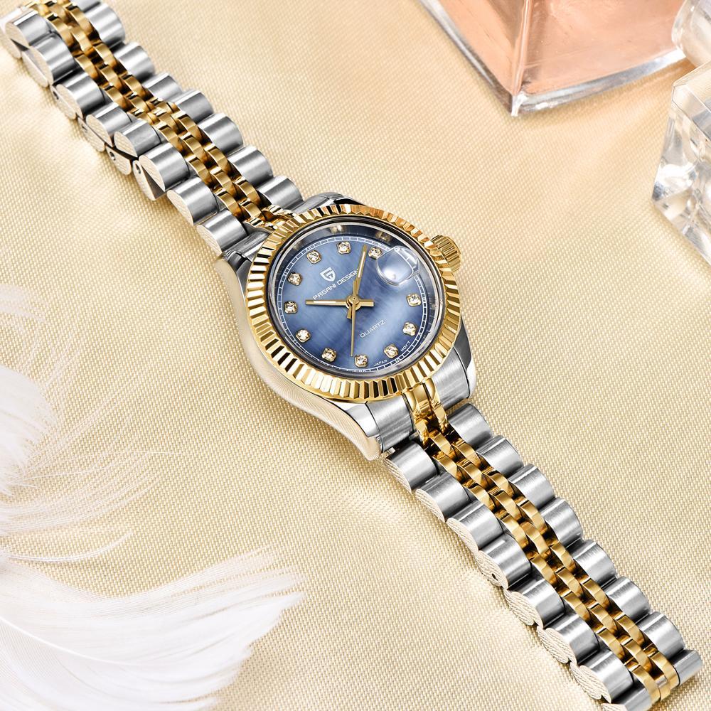Nowe zegarki damskie PAGANI projekt Top marka luksusowe moda Sport zegarek dla pań sukienka wodoodporny zegarek kwarcowy Relogio Feminino w Zegarki damskie od Zegarki na  Grupa 3