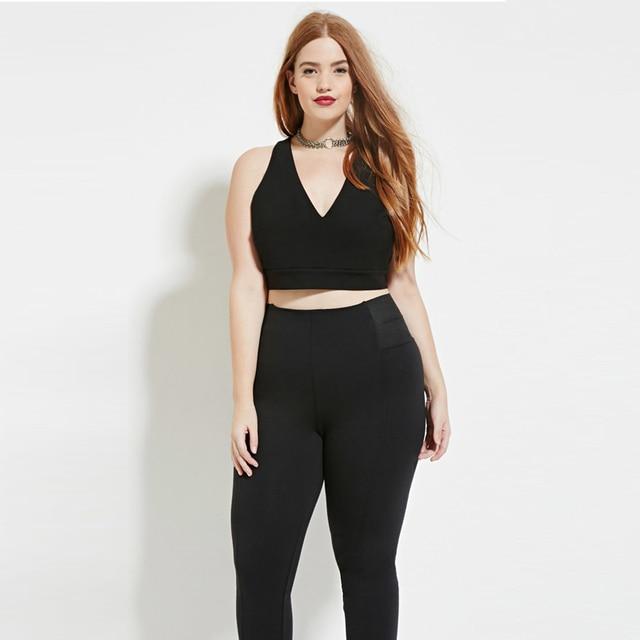 f55435b931c7e6 Plus size 5xl women new fashion summer sexy backless V neck crop tops lo  shi tanks