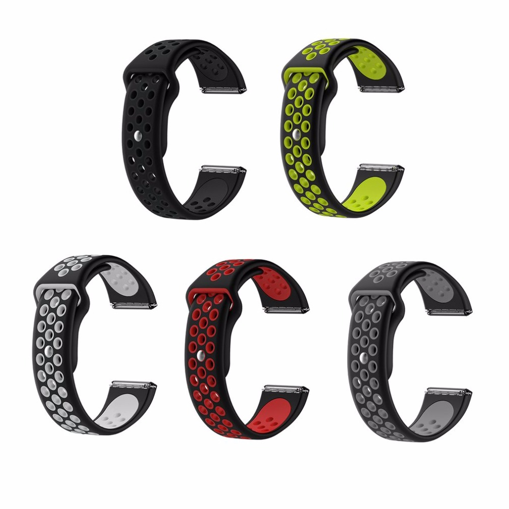 Watchband Replacement Wrist Band Health Sleep Sillicone Strap Clasp For  Fitbit Alta HR Smart Wristband Watch