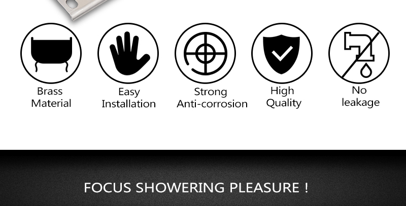 hm A High Quality 100% Brass Finish Chrome Thermostatic Shower Mixer Faucet, Shower Faucet, Hidden Water Round 5 Dial 4 Ways (3)