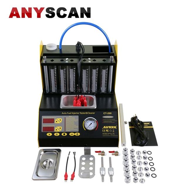 6 4 cylindres essence voiture moto ultrasons injecteur de nettoyage testeur machine autool. Black Bedroom Furniture Sets. Home Design Ideas