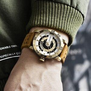 Image 3 - Benyar Heren Horloges Top Brand Luxe Waterdichte Polshorloge Ultra Dunne Datum Quartz Horloge Voor Mannen Sport Klok Erkek Kol saati