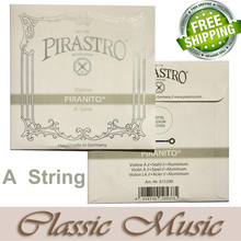 Free shipping ,Pirastro Piranito Violin String ,Only A String(615200), Ball End, Made in Germany