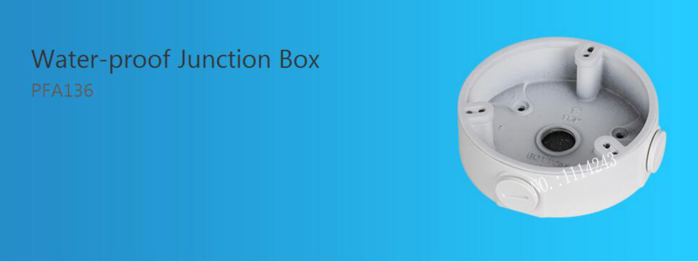 DAHUA Waterproof Junction Box PFA136 dahua waterproof junction box pfa123